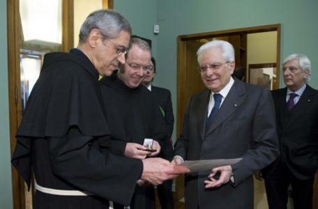 Presidente della Repubblica Sergio Mattarella a Padova