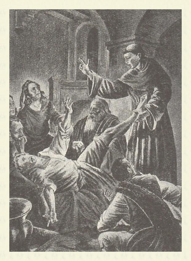 Il Santo riattacca il piede ad un giovane