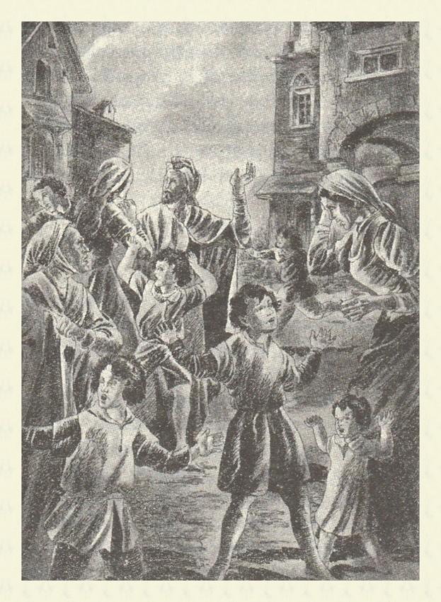 I bimbi che annunziano l amorte del Santo