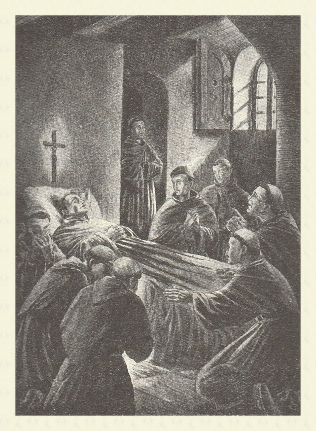 Morte del Santo
