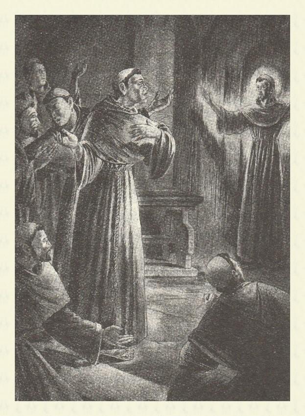 Apparizione di S Francesco ad Arles