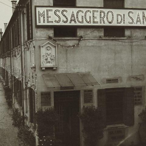 Sede Messaggero, anni ' 40