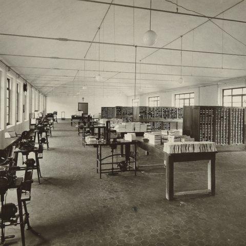 Messaggero, sala spedizioni, 1941