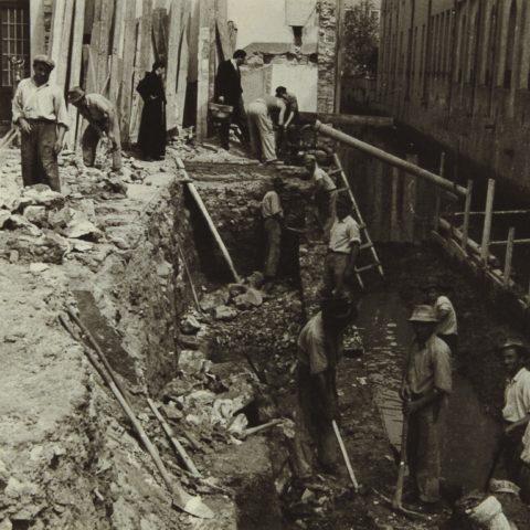 Costruzione Sede Messaggero, 1938 - 39