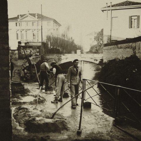 Costruzione sede Messaggero, Padova 1938 - 39