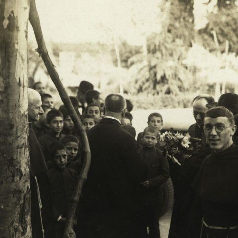 Roma Convento Sant'Antonio Terme 1931