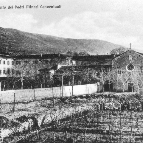 Cherso ( istria ), chiesa e convento di San Francesco, frati minori conventuali