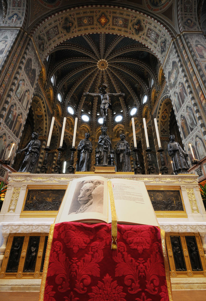 Padova – Basilica di Sant'Antonio – Altare maggiore