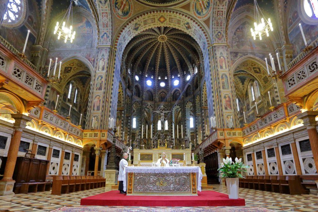 Padova – Basilica di Sant'Antonio – Veduta d'insieme del Presbiterio