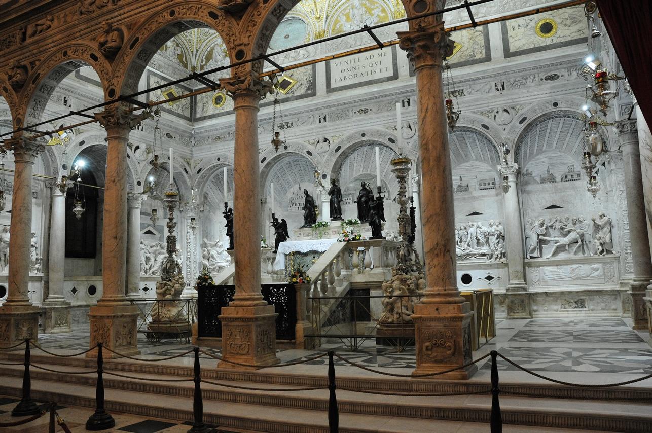 Padova – Basilica di Sant'Antonio – Cappella dell'Arca, Sec. XVI