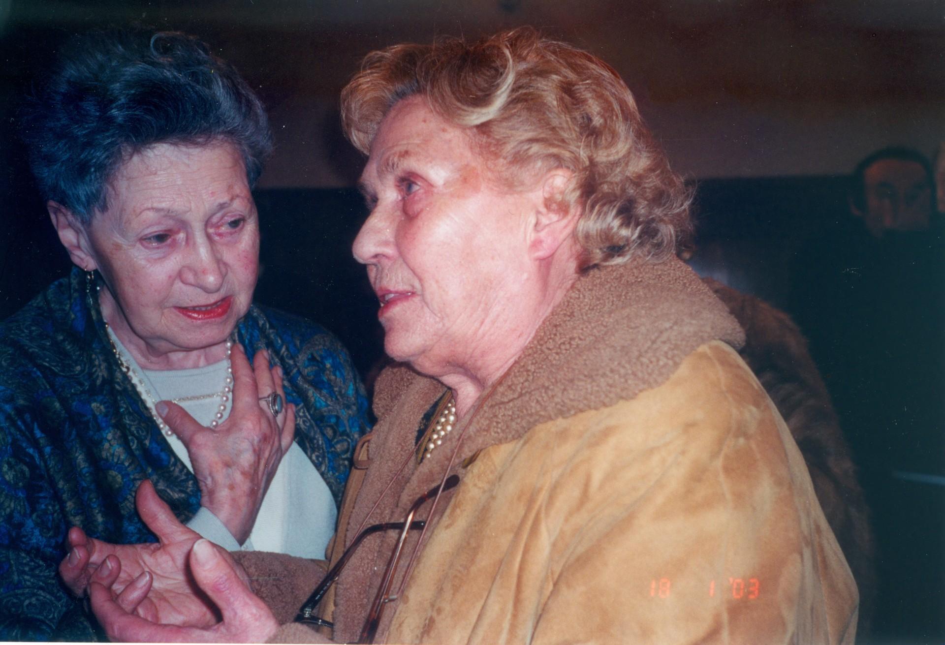 Lidia Martini e Adele Lapanje