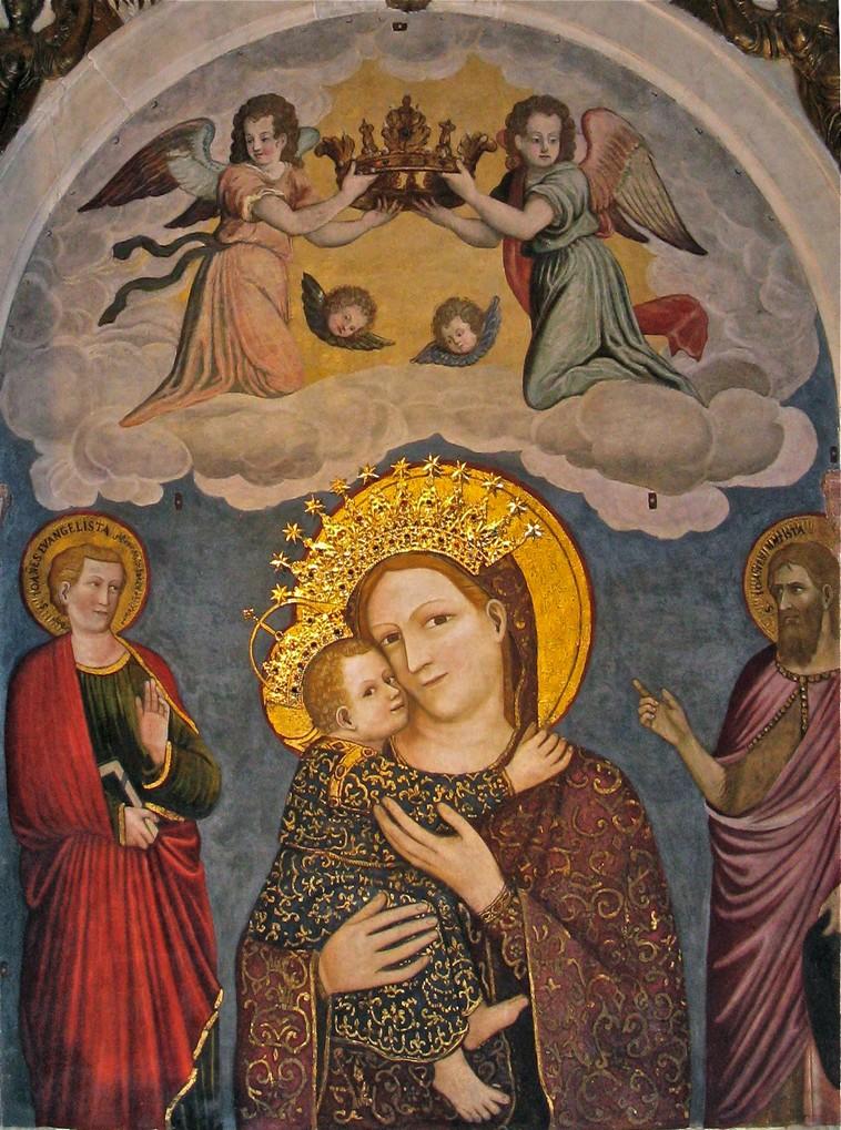Madonna col Bambino detta del Pilastro - Stefano da Ferrara, 1350