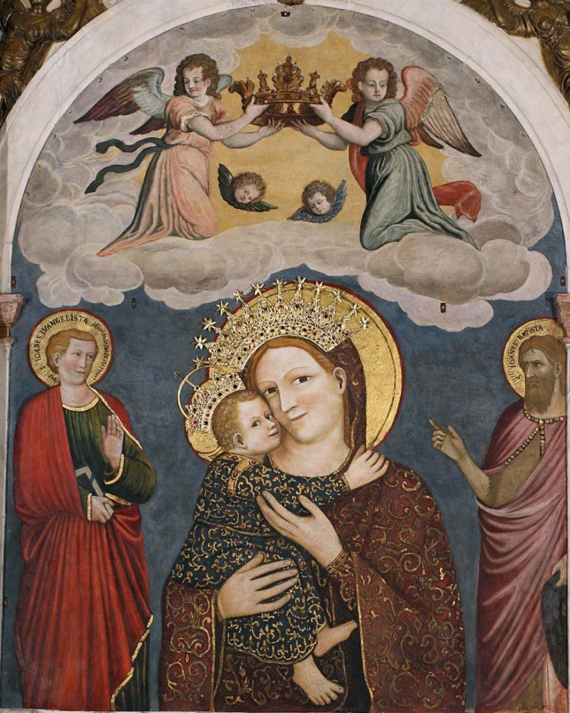 """Padova – Basilica di Sant'Antonio – Madonna con Bambino, detta """"degli orbi o del pilastro"""