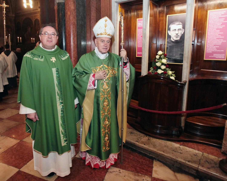 Mons. Eugenio Ravignani e P. Enzo Poiana
