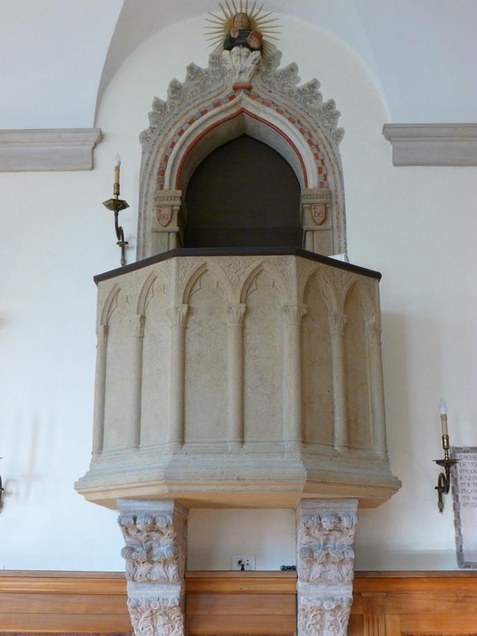 Pulpito San Bernardino Refettorio Convento Santo