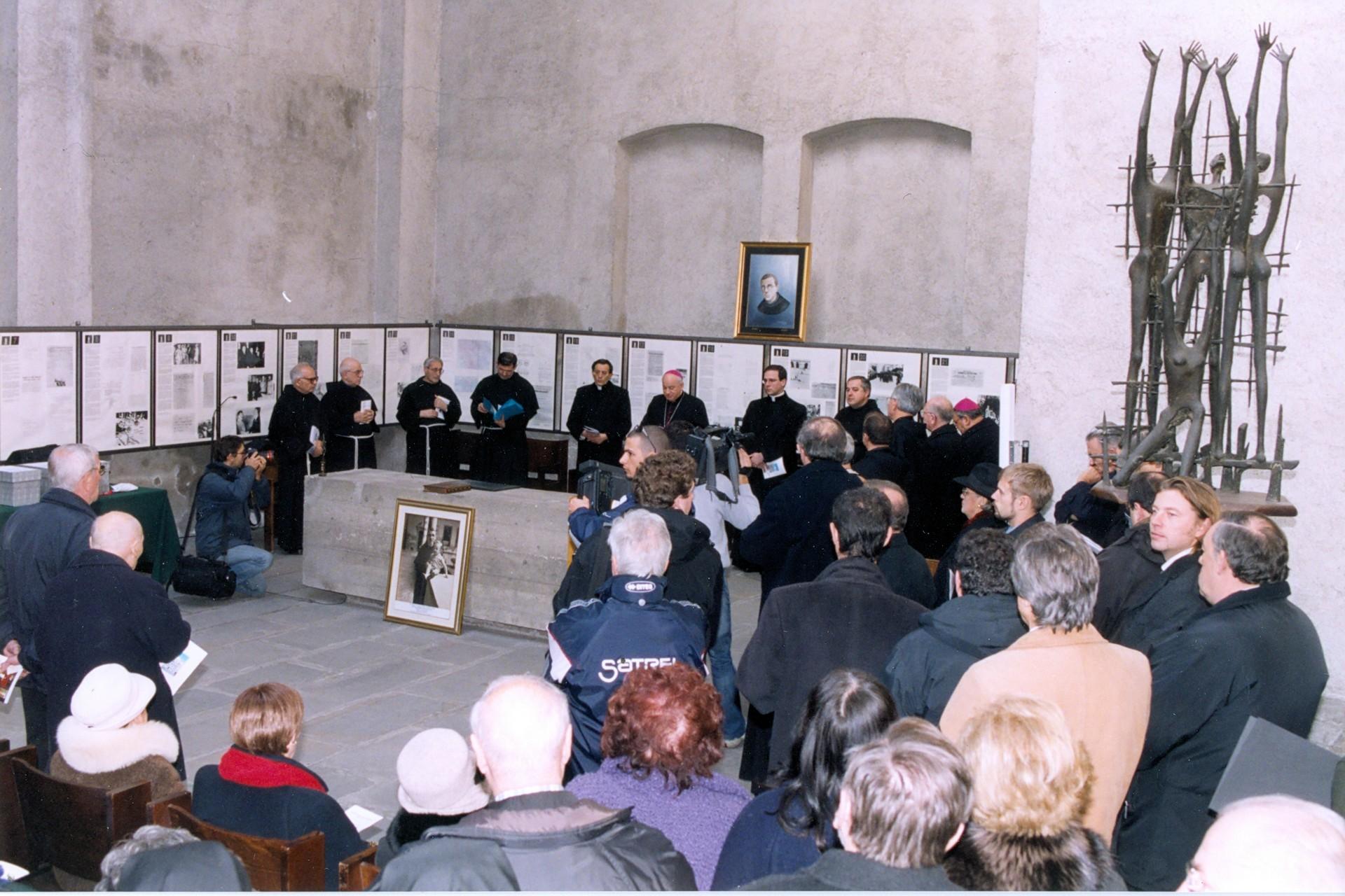 Sessione di chiusura dell'Inchiesa diocesana della Causa di canonizzazione