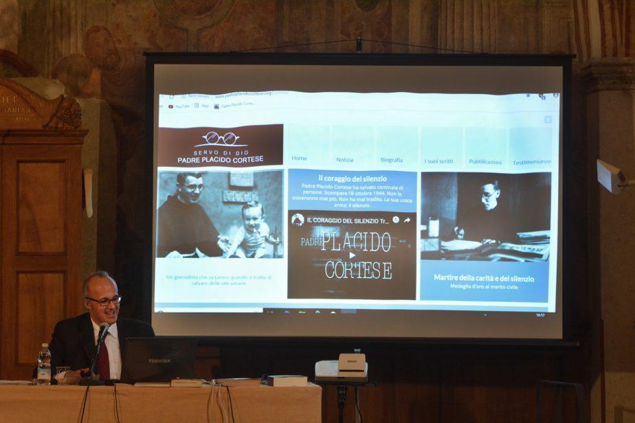 25 aprile 2019 - Convegno: Presentazione del sito internet dedicato al Servo di Dio P. Placido Cortese