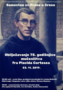 Cherso (Croazia) - Domenica 3 novembre 2019 Chiesa di S. Francesco dei Frati Minori Conventuali
