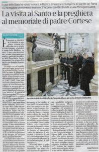 Il Mattino di Padova, 8 febbraio 2020