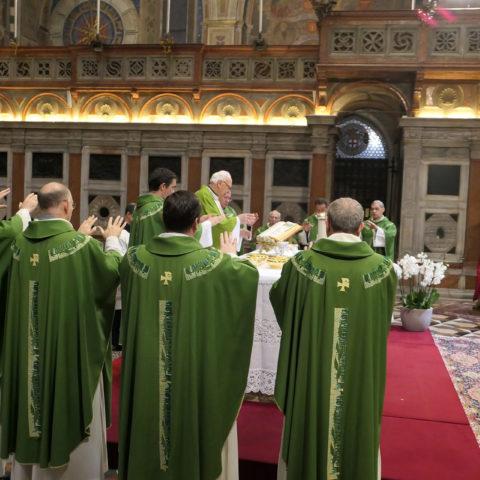 Padova, Pontificia Basilica di S. Antonio, 17 novembre 2019 - Messa