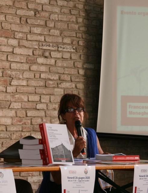 L'autrice del volume, prof. Francesca Meneghetti