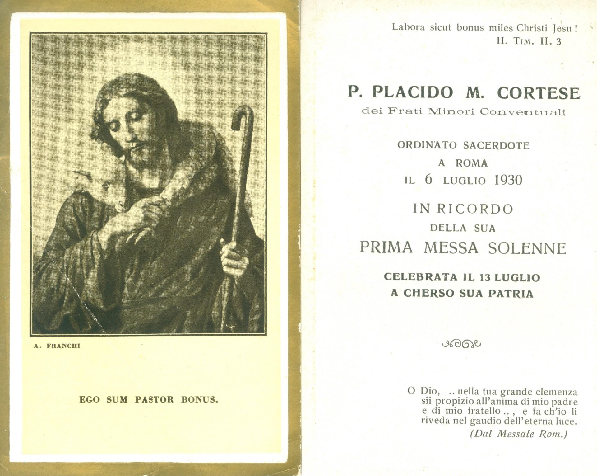 Ordinazione Padre Placido - Sacerdotale e Prima_Messa