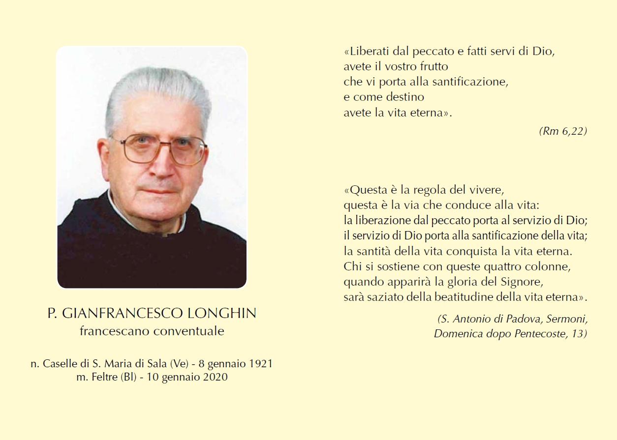 Padre Gianfrancesco Longhin