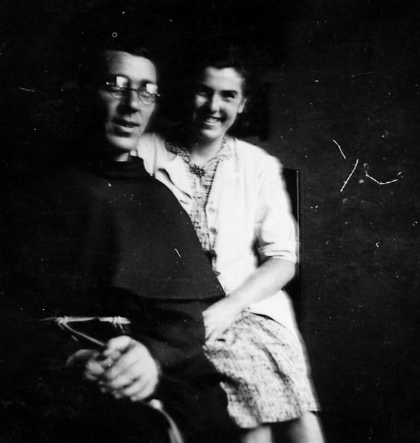 Padre Placido e Majda Mazovec