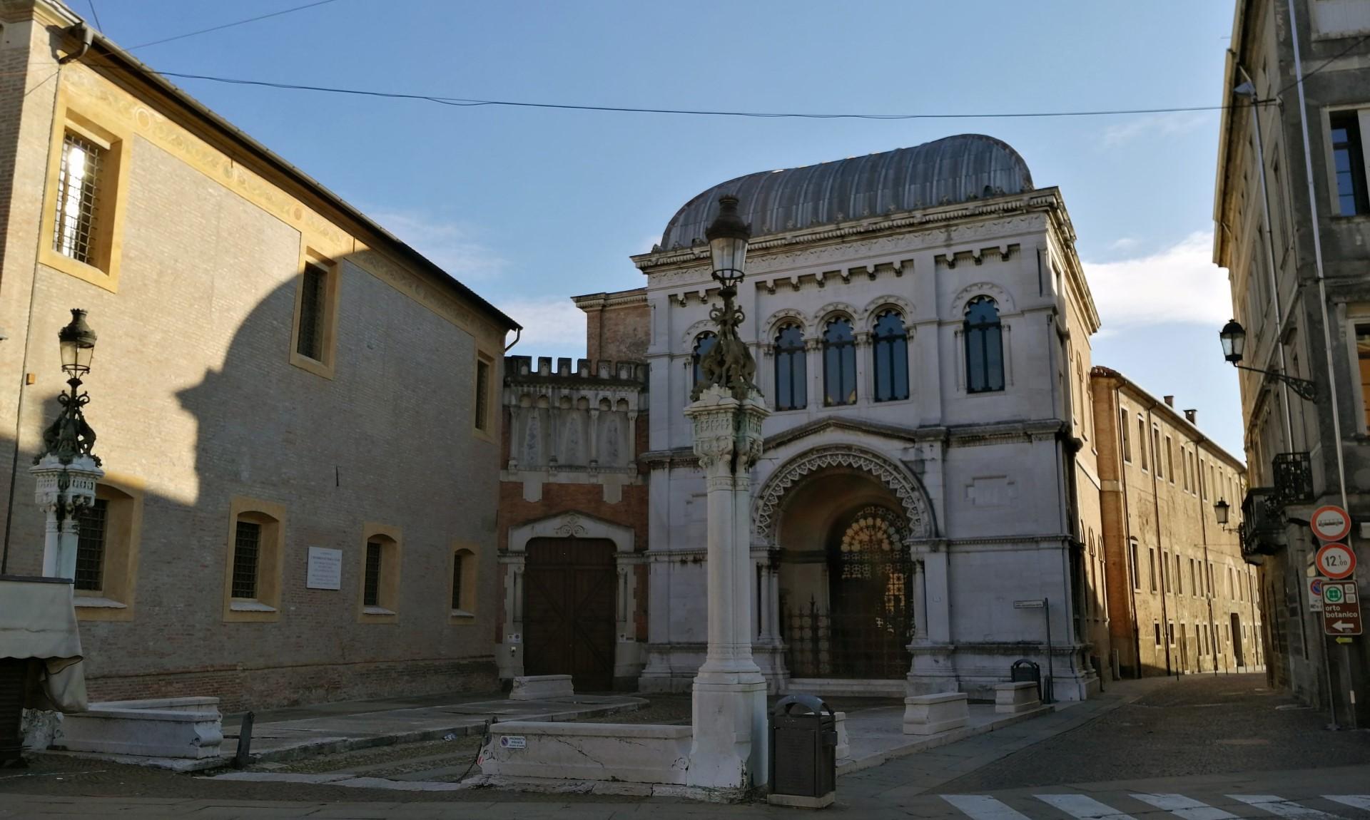 Piazzetta Kolbe Via Orto Botanico