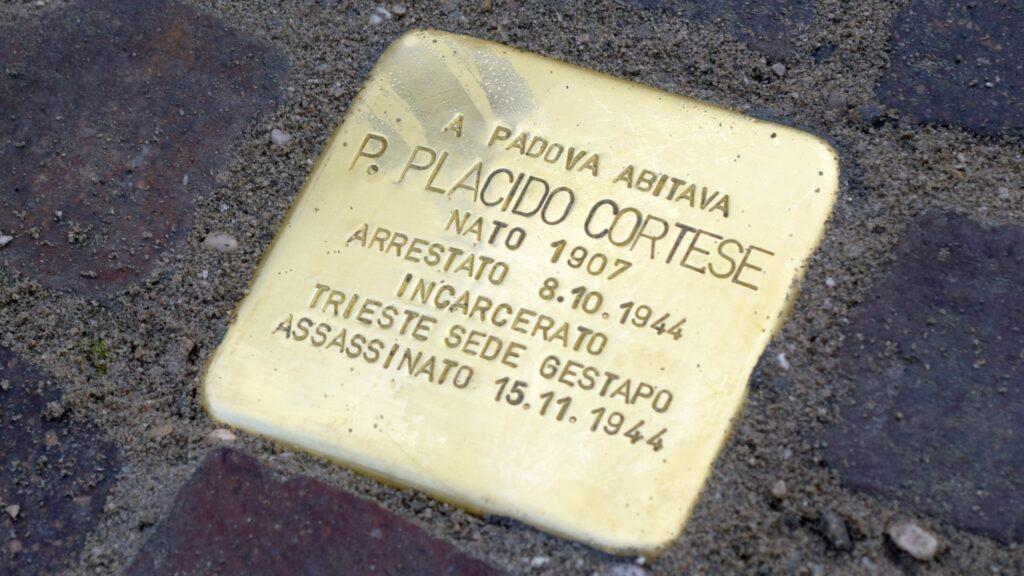 """Una """"PIETRA"""" Per Padre Placido Cortese"""