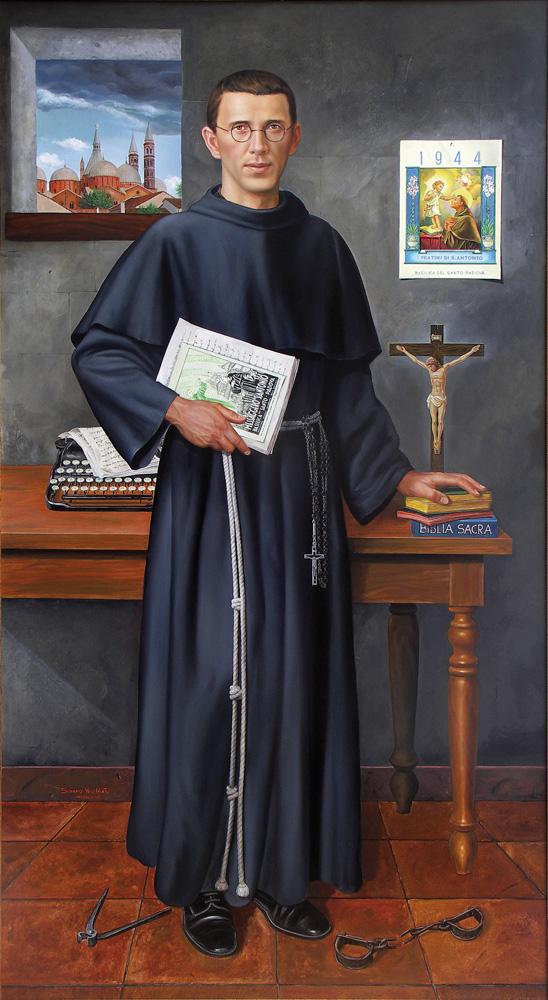 Ritratto di Padre Placido Cortese