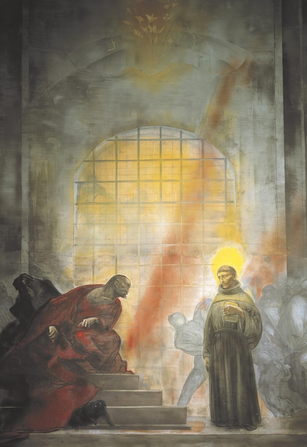 Sant'Antonio di fronte a Ezzelino da Romano